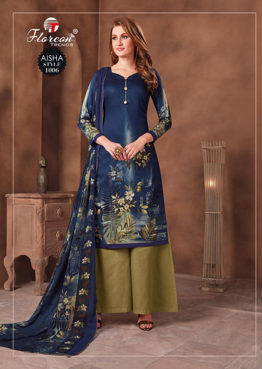 Floreon Trends Aisha Salwar Suit Wholesale Catalog 10 Pcs 10 - Floreon Trends Aisha Salwar Suit Wholesale Catalog 10 Pcs