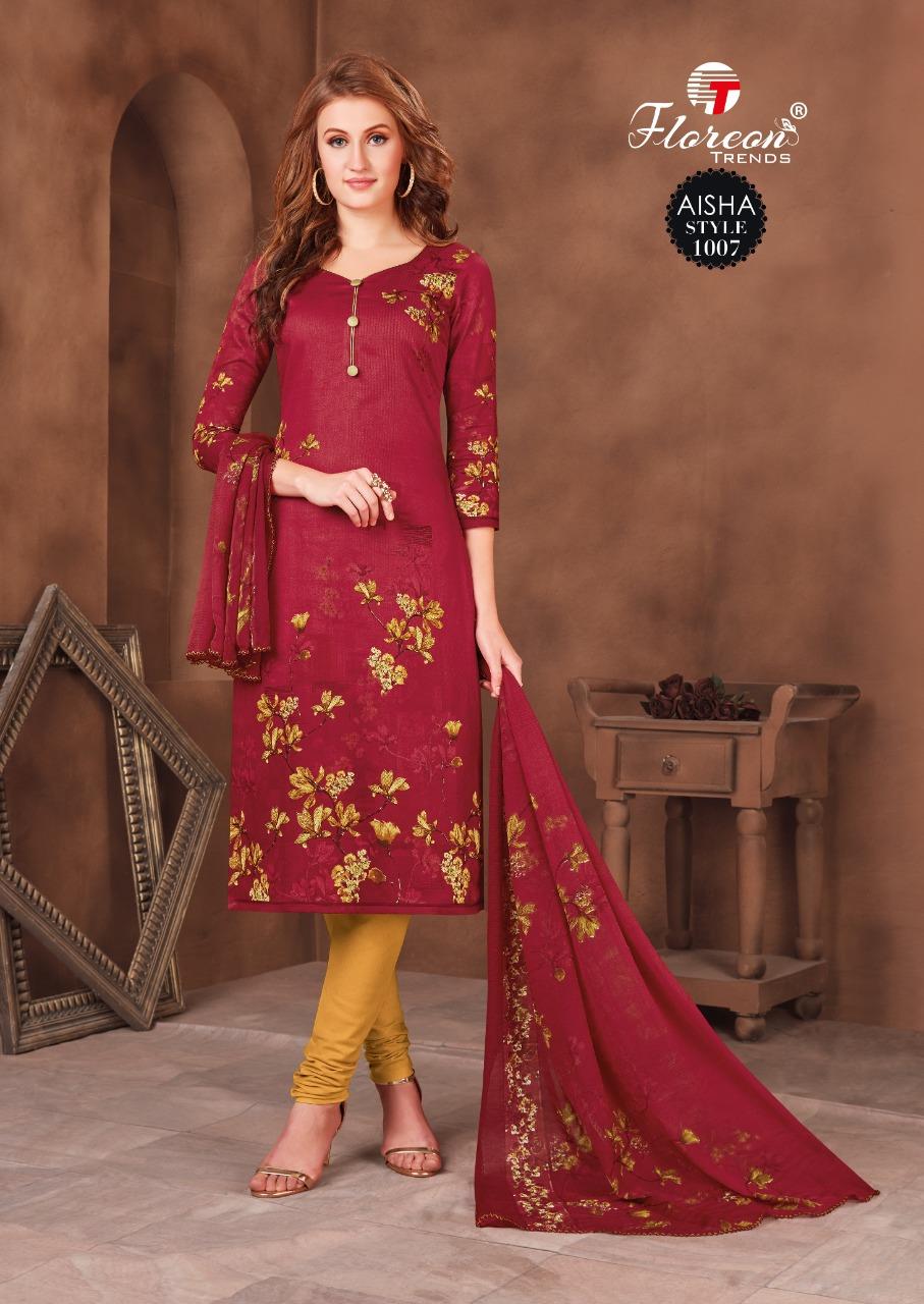Floreon Trends Aisha Salwar Suit Wholesale Catalog 10 Pcs 13 - Floreon Trends Aisha Salwar Suit Wholesale Catalog 10 Pcs