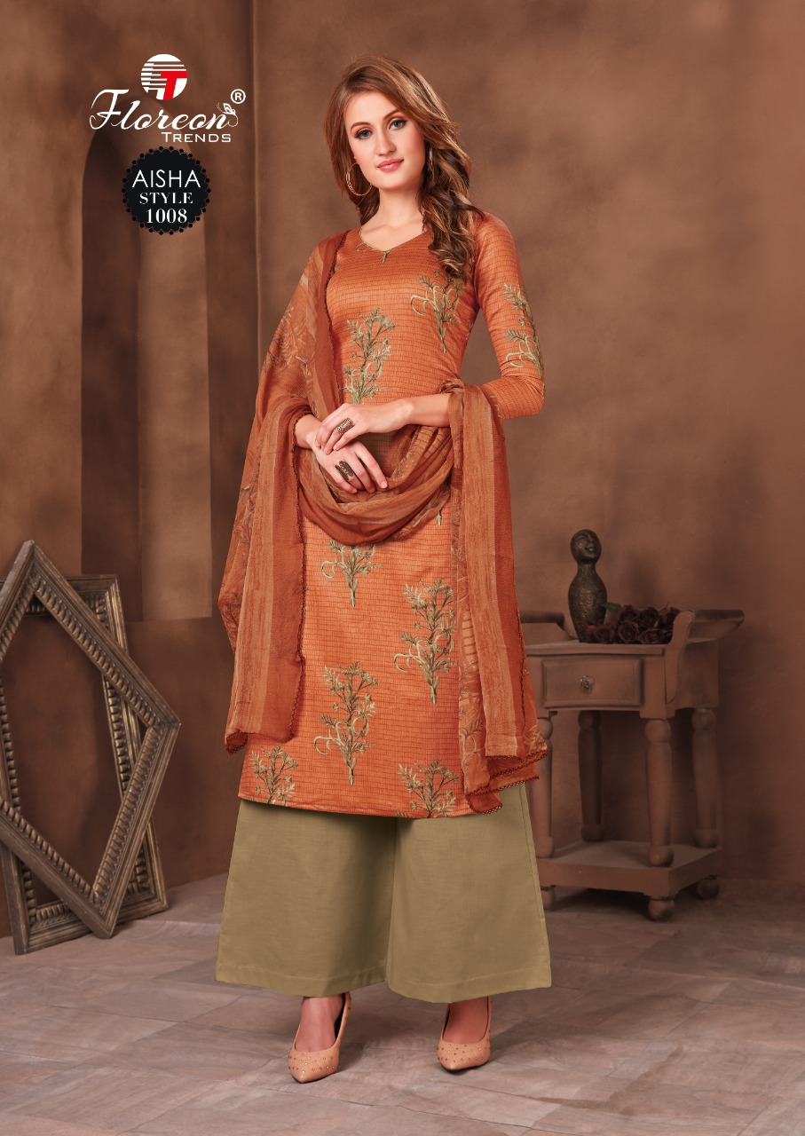 Floreon Trends Aisha Salwar Suit Wholesale Catalog 10 Pcs 14 - Floreon Trends Aisha Salwar Suit Wholesale Catalog 10 Pcs