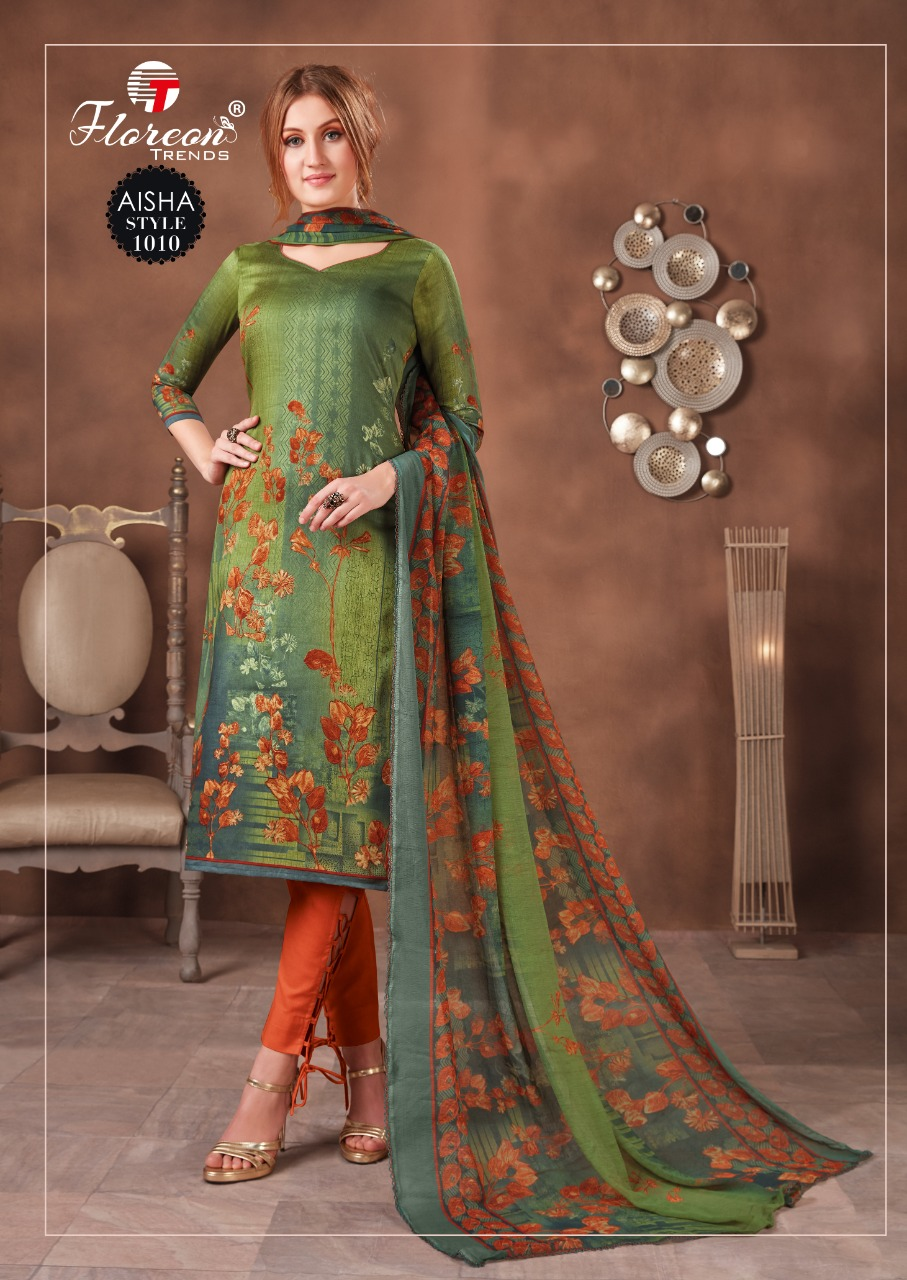 Floreon Trends Aisha Salwar Suit Wholesale Catalog 10 Pcs 16 - Floreon Trends Aisha Salwar Suit Wholesale Catalog 10 Pcs
