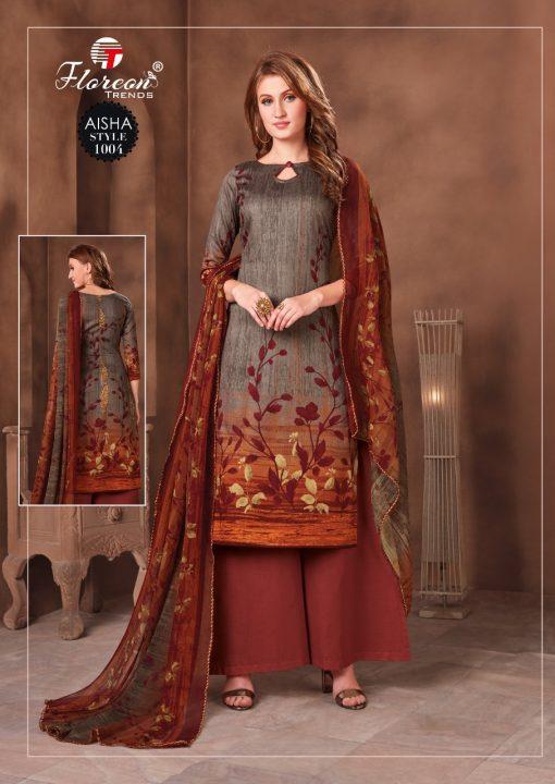 Floreon Trends Aisha Salwar Suit Wholesale Catalog 10 Pcs 6 510x720 - Floreon Trends Aisha Salwar Suit Wholesale Catalog 10 Pcs