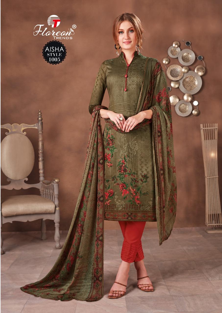 Floreon Trends Aisha Salwar Suit Wholesale Catalog 10 Pcs 9 - Floreon Trends Aisha Salwar Suit Wholesale Catalog 10 Pcs
