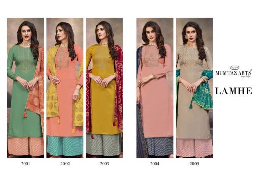 Mumtaz Arts Lamhe Salwar Suit Wholesale Catalog 5 Pcs 11 510x363 - Mumtaz Arts Lamhe Salwar Suit Wholesale Catalog 5 Pcs
