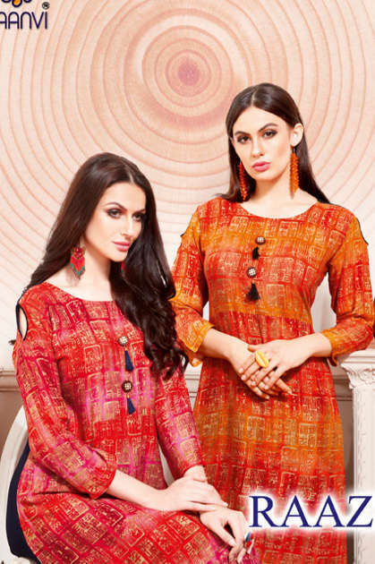 Rani Baanvi Raazi Kurti Wholesale Catalog 10 Pcs
