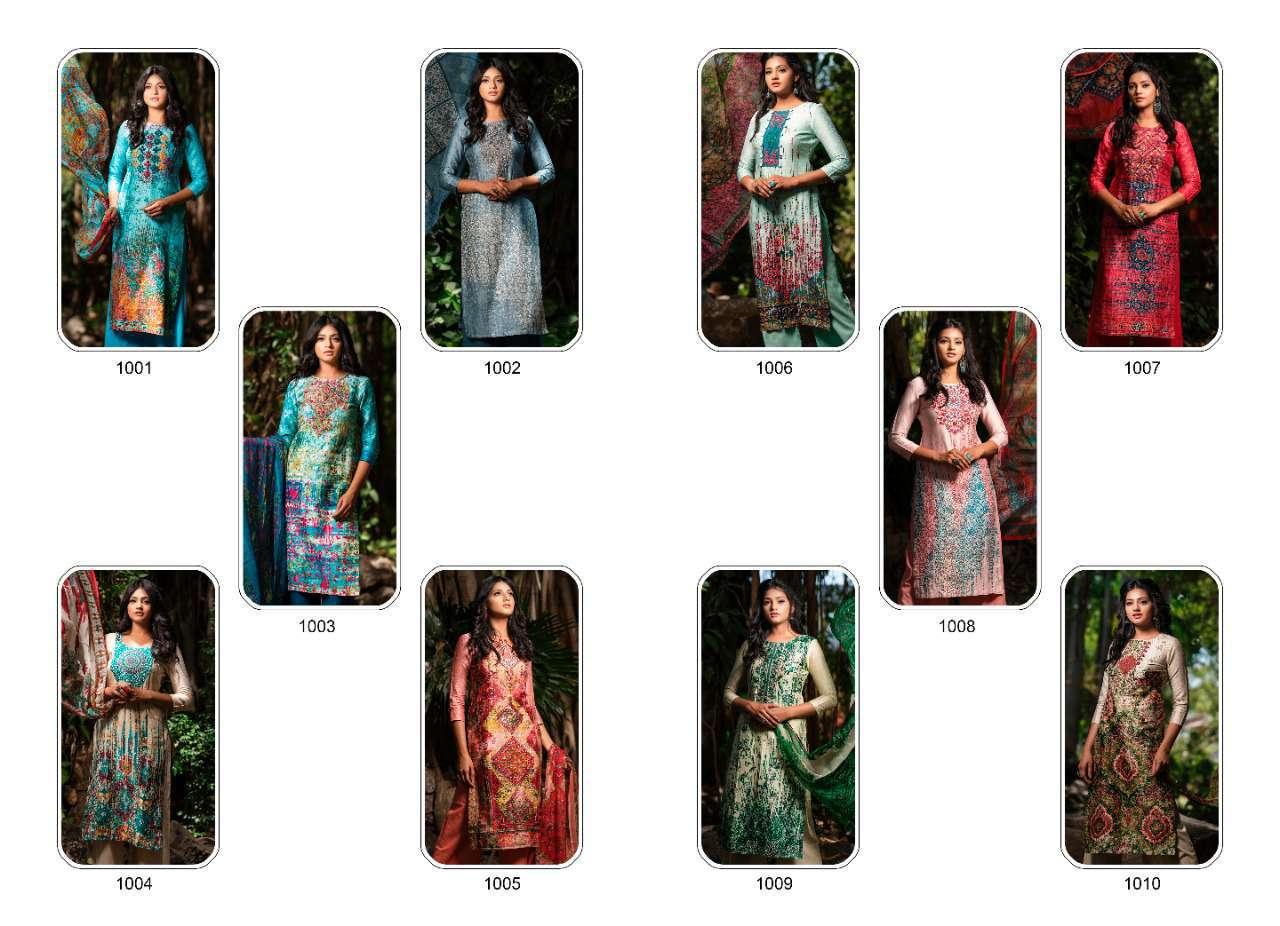 Rvee Gold Rose Salwar Suit Wholesale Catalog 10 Pcs 11 - Rvee Gold Rose Salwar Suit Wholesale Catalog 10 Pcs