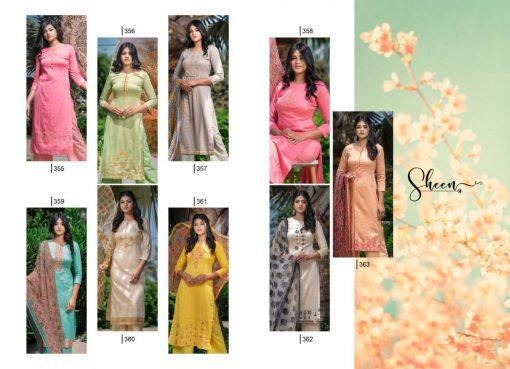 Rvee Gold Sheen Salwar Suit Wholesale Catalog 9 Pcs 11 510x369 - Rvee Gold Sheen Salwar Suit Wholesale Catalog 9 Pcs