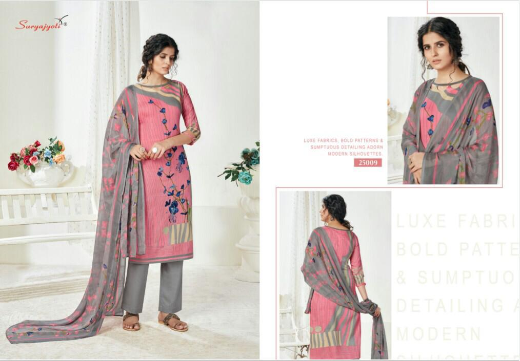 Suryajyoti Naishaa Vol 25 Salwar Suit Wholesale Catalog 11 Pcs 10 - Suryajyoti Naishaa Vol 25 Salwar Suit Wholesale Catalog 11 Pcs