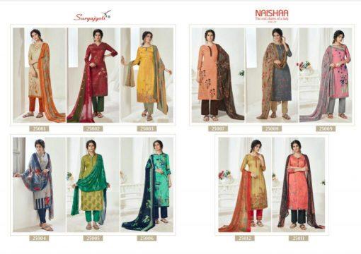 Suryajyoti Naishaa Vol 25 Salwar Suit Wholesale Catalog 11 Pcs 13 510x360 - Suryajyoti Naishaa Vol 25 Salwar Suit Wholesale Catalog 11 Pcs