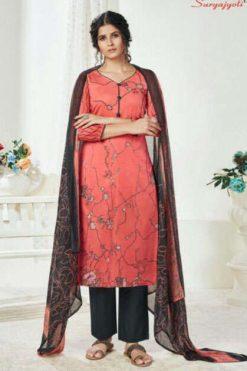 Suryajyoti Naishaa Vol 25 Salwar Suit Wholesale Catalog 11 Pcs