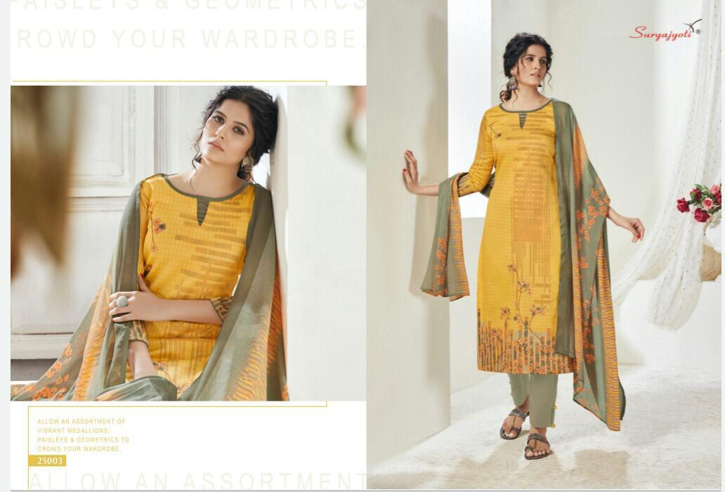 Suryajyoti Naishaa Vol 25 Salwar Suit Wholesale Catalog 11 Pcs 3 - Suryajyoti Naishaa Vol 25 Salwar Suit Wholesale Catalog 11 Pcs