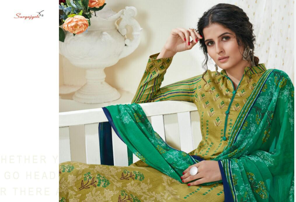 Suryajyoti Naishaa Vol 25 Salwar Suit Wholesale Catalog 11 Pcs 5 - Suryajyoti Naishaa Vol 25 Salwar Suit Wholesale Catalog 11 Pcs