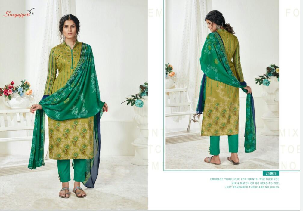Suryajyoti Naishaa Vol 25 Salwar Suit Wholesale Catalog 11 Pcs 9 - Suryajyoti Naishaa Vol 25 Salwar Suit Wholesale Catalog 11 Pcs