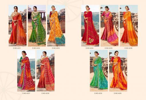 Kessi Bandhej Hits Saree Sari Wholesale Catalog 10 Pcs 11 2 510x349 - Kessi Bandhej Hits Saree Sari Wholesale Catalog 10 Pcs