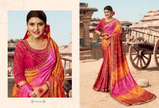 Kessi Bandhej Hits Saree Sari Wholesale Catalog 10 Pcs 9 2 510x349 - Kessi Bandhej Hits Saree Sari Wholesale Catalog 10 Pcs