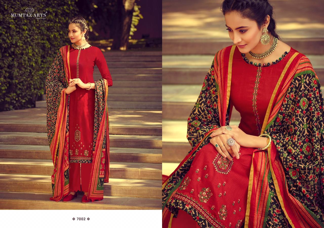Mumtaz Arts Ikkat Patola Salwar Suit Wholesale Catalog 10 Pcs 1 - Mumtaz Arts Ikkat Patola Salwar Suit Wholesale Catalog 10 Pcs