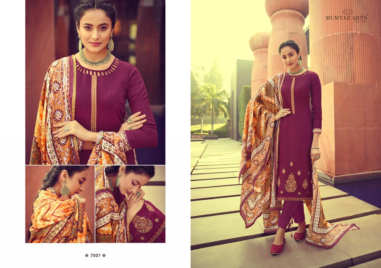 Mumtaz Arts Ikkat Patola Salwar Suit Wholesale Catalog 10 Pcs 10 - Mumtaz Arts Ikkat Patola Salwar Suit Wholesale Catalog 10 Pcs