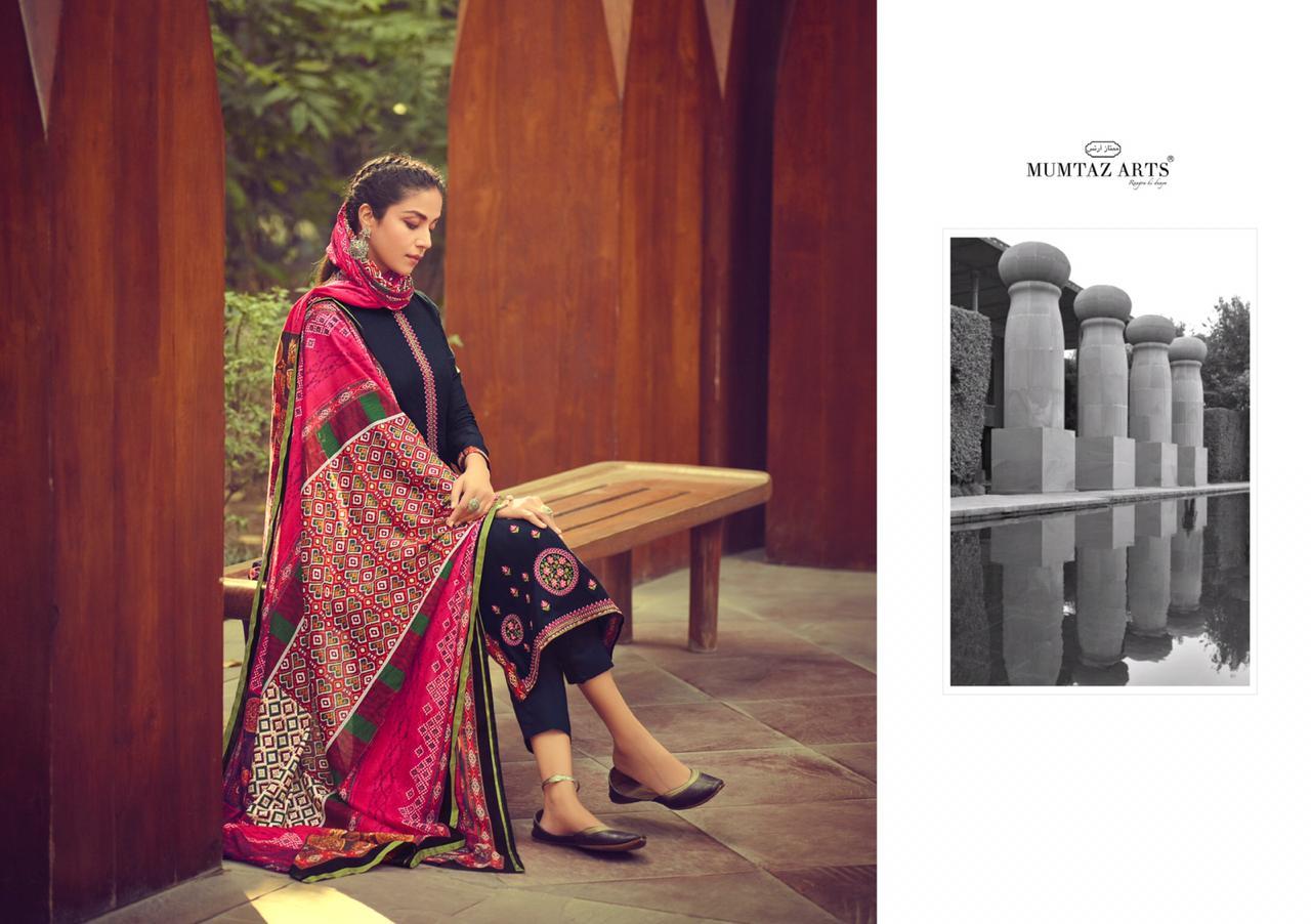 Mumtaz Arts Ikkat Patola Salwar Suit Wholesale Catalog 10 Pcs 14 - Mumtaz Arts Ikkat Patola Salwar Suit Wholesale Catalog 10 Pcs