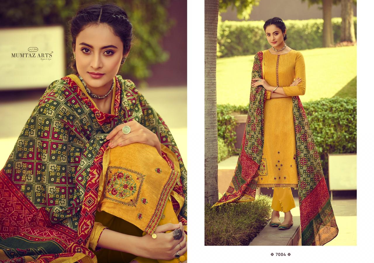 Mumtaz Arts Ikkat Patola Salwar Suit Wholesale Catalog 10 Pcs 2 - Mumtaz Arts Ikkat Patola Salwar Suit Wholesale Catalog 10 Pcs
