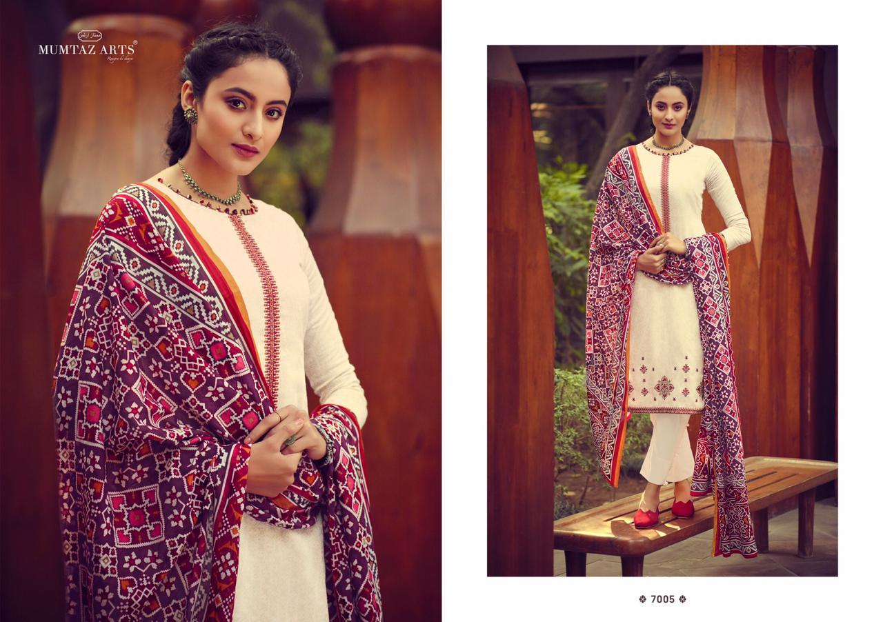 Mumtaz Arts Ikkat Patola Salwar Suit Wholesale Catalog 10 Pcs 3 - Mumtaz Arts Ikkat Patola Salwar Suit Wholesale Catalog 10 Pcs