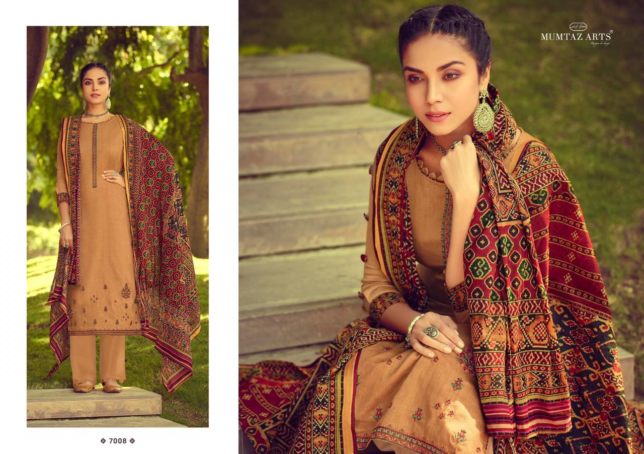 Mumtaz Arts Ikkat Patola Salwar Suit Wholesale Catalog 10 Pcs 7 - Mumtaz Arts Ikkat Patola Salwar Suit Wholesale Catalog 10 Pcs