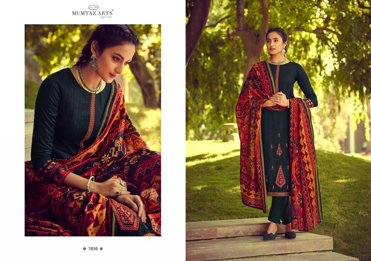 Mumtaz Arts Ikkat Patola Salwar Suit Wholesale Catalog 10 Pcs 9 - Mumtaz Arts Ikkat Patola Salwar Suit Wholesale Catalog 10 Pcs