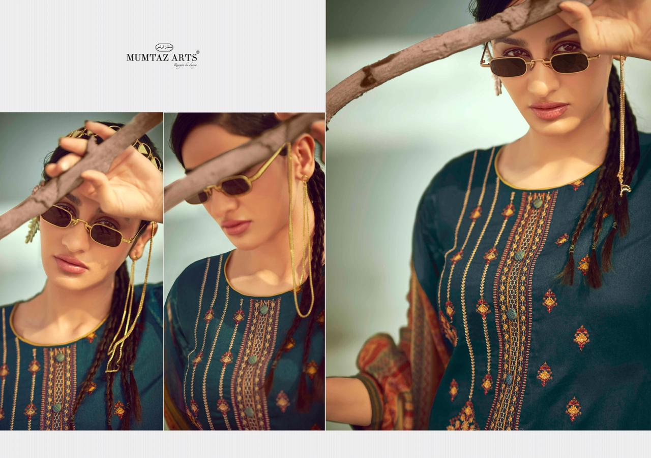 Mumtaz Arts Sajda Salwar Suit Wholesale Catalog 9 Pcs 9 - Mumtaz Arts Sajda Salwar Suit Wholesale Catalog 9 Pcs