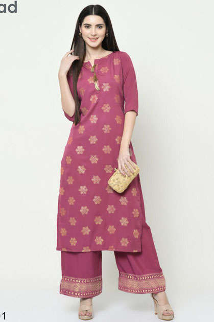 Cutemad Vol 3 Kurti with Palazzo Wholesale Catalog 8 Pcs