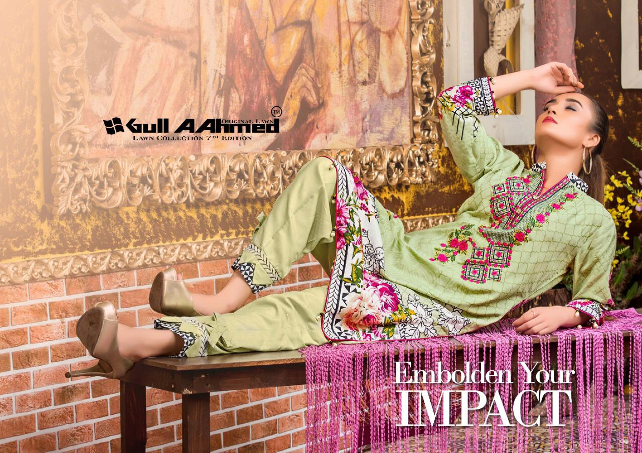 Gull AAhmed Vol 7 Lawn Colletion Salwar Suit Wholesale Catalog 10 Pcs 16 - Gull AAhmed Vol 7 Lawn Colletion Salwar Suit Wholesale Catalog  10 Pcs