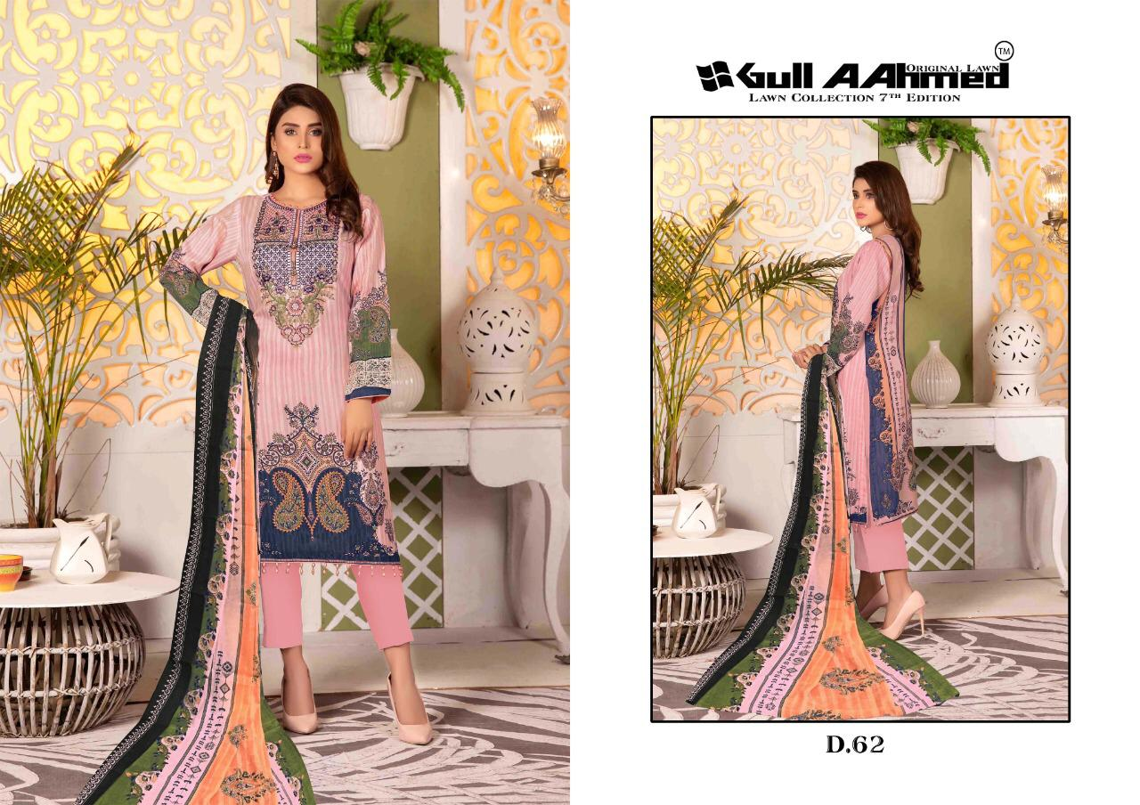 Gull AAhmed Vol 7 Lawn Colletion Salwar Suit Wholesale Catalog 10 Pcs 3 - Gull AAhmed Vol 7 Lawn Colletion Salwar Suit Wholesale Catalog  10 Pcs