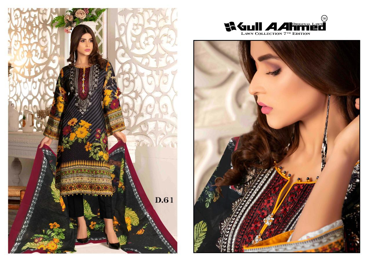 Gull AAhmed Vol 7 Lawn Colletion Salwar Suit Wholesale Catalog 10 Pcs 4 - Gull AAhmed Vol 7 Lawn Colletion Salwar Suit Wholesale Catalog  10 Pcs