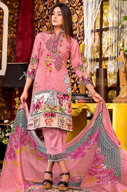 Gull AAhmed Vol 7 Lawn Colletion Salwar Suit Wholesale Catalog 10 Pcs - Gull AAhmed Vol 7 Lawn Colletion Salwar Suit Wholesale Catalog  10 Pcs
