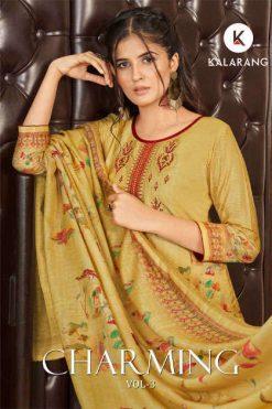 Kalarang Charming Vol 3 by Kessi Salwar Suit Wholesale Catalog 4 Pcs