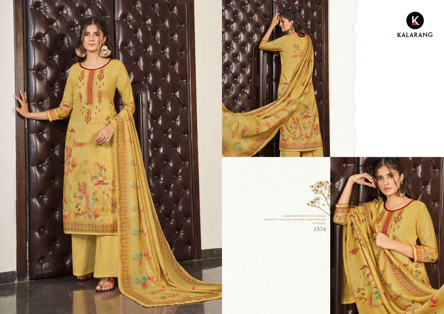Kalarang Charming Vol 3 by Kessi Salwar Suit Wholesale Catalog 4 Pcs 6 - Kalarang Charming Vol 3 by Kessi Salwar Suit Wholesale Catalog 4 Pcs