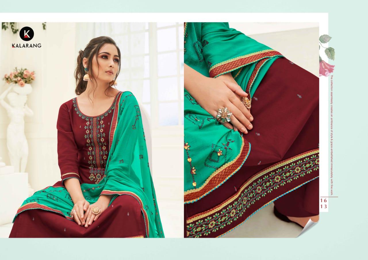 Kalarang Karva by Kessi Salwar Suit Wholesale Catalog 4 Pcs 3 - Kalarang Karva by Kessi Salwar Suit Wholesale Catalog 4 Pcs
