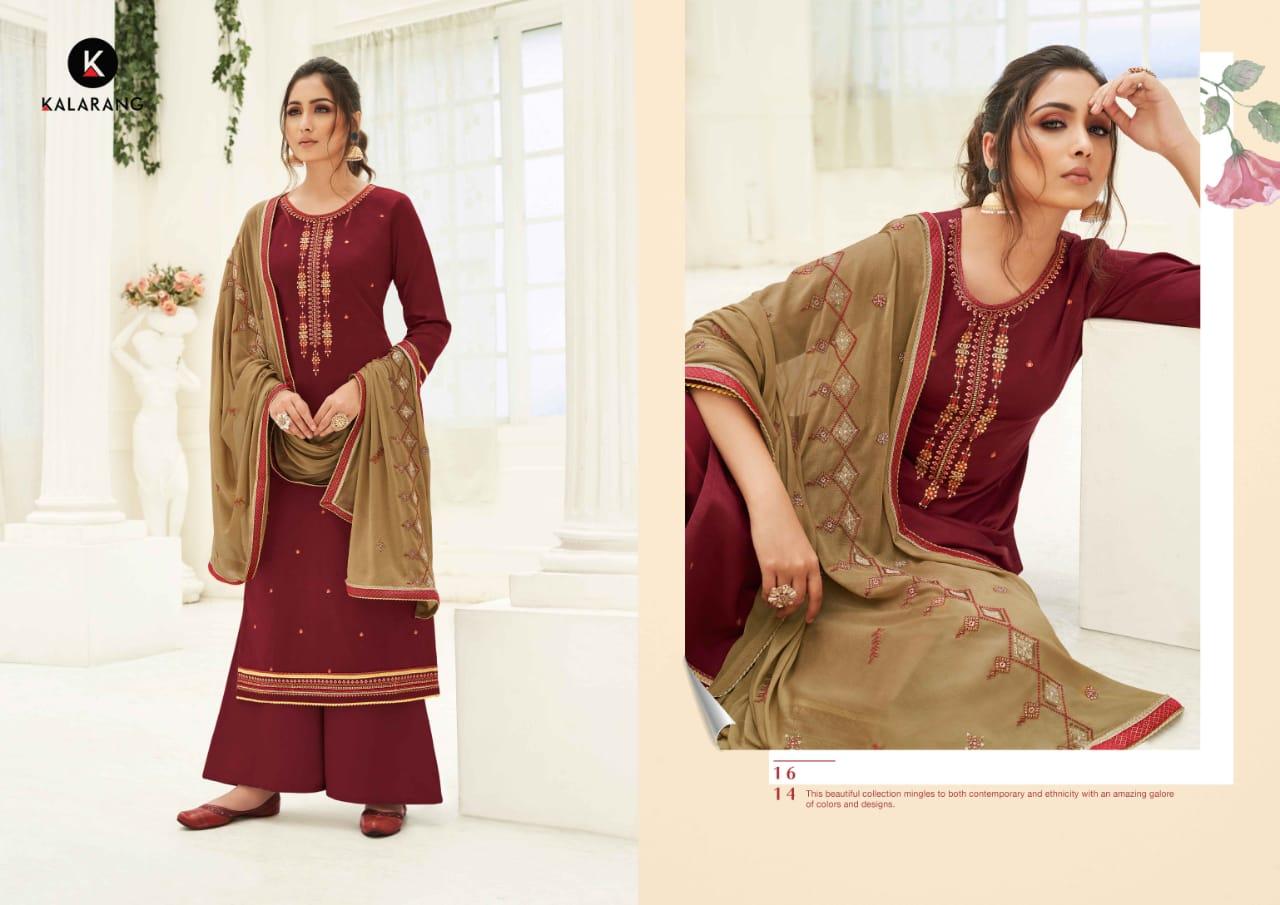 Kalarang Karva by Kessi Salwar Suit Wholesale Catalog 4 Pcs 5 - Kalarang Karva by Kessi Salwar Suit Wholesale Catalog 4 Pcs