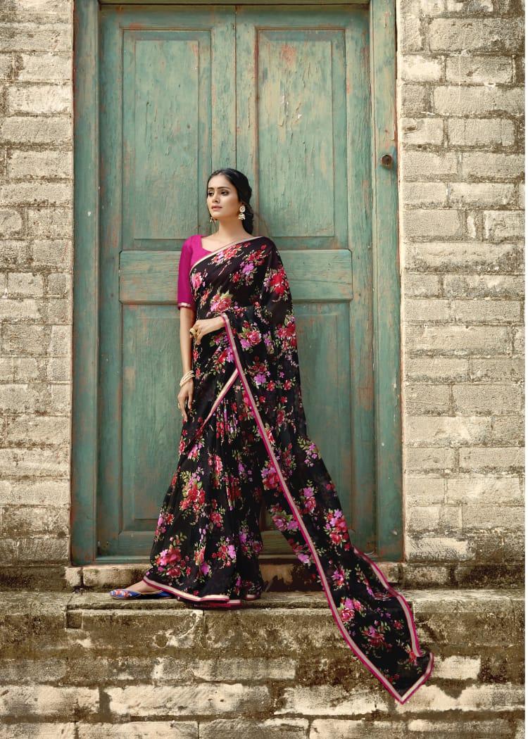 Kashvi Inayat by Lt Fabrics Saree Sari Wholesale Catalog 10 Pcs 21 - Kashvi Inayat by Lt Fabrics Saree Sari Wholesale Catalog 10 Pcs