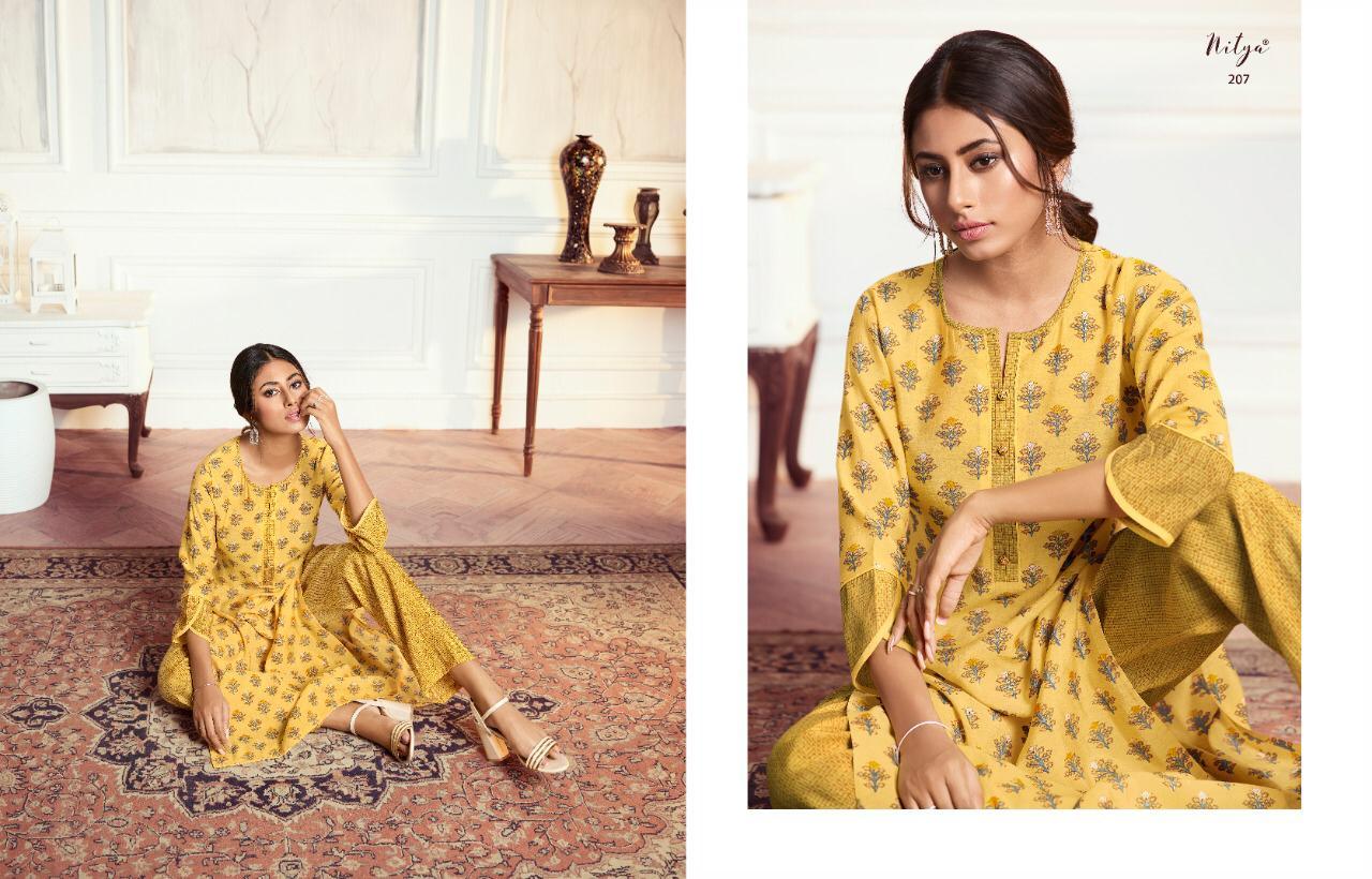 Lt Fabrics Nitya Aahna Vol 2 Kurti with Palazzo Wholesale Catalog 8 Pcs 10 - Lt Fabrics Nitya Aahna Vol 2 Kurti with Palazzo Wholesale Catalog 8 Pcs