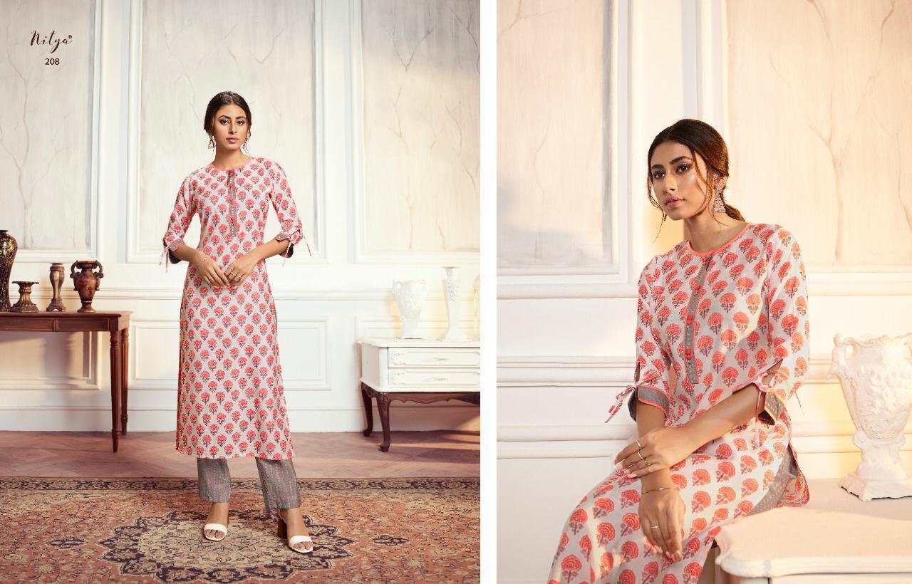 Lt Fabrics Nitya Aahna Vol 2 Kurti with Palazzo Wholesale Catalog 8 Pcs 12 - Lt Fabrics Nitya Aahna Vol 2 Kurti with Palazzo Wholesale Catalog 8 Pcs