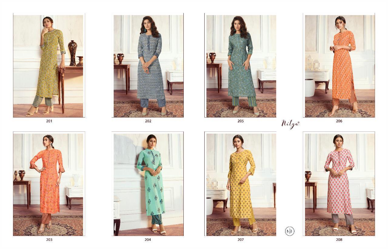 Lt Fabrics Nitya Aahna Vol 2 Kurti with Palazzo Wholesale Catalog 8 Pcs 13 - Lt Fabrics Nitya Aahna Vol 2 Kurti with Palazzo Wholesale Catalog 8 Pcs