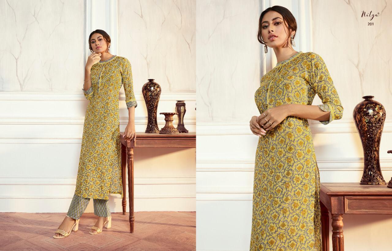 Lt Fabrics Nitya Aahna Vol 2 Kurti with Palazzo Wholesale Catalog 8 Pcs 2 - Lt Fabrics Nitya Aahna Vol 2 Kurti with Palazzo Wholesale Catalog 8 Pcs