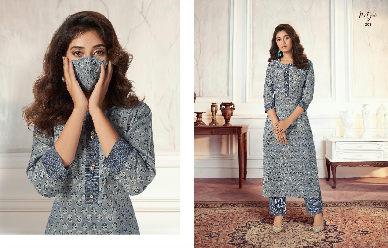 Lt Fabrics Nitya Aahna Vol 2 Kurti with Palazzo Wholesale Catalog 8 Pcs 4 - Lt Fabrics Nitya Aahna Vol 2 Kurti with Palazzo Wholesale Catalog 8 Pcs