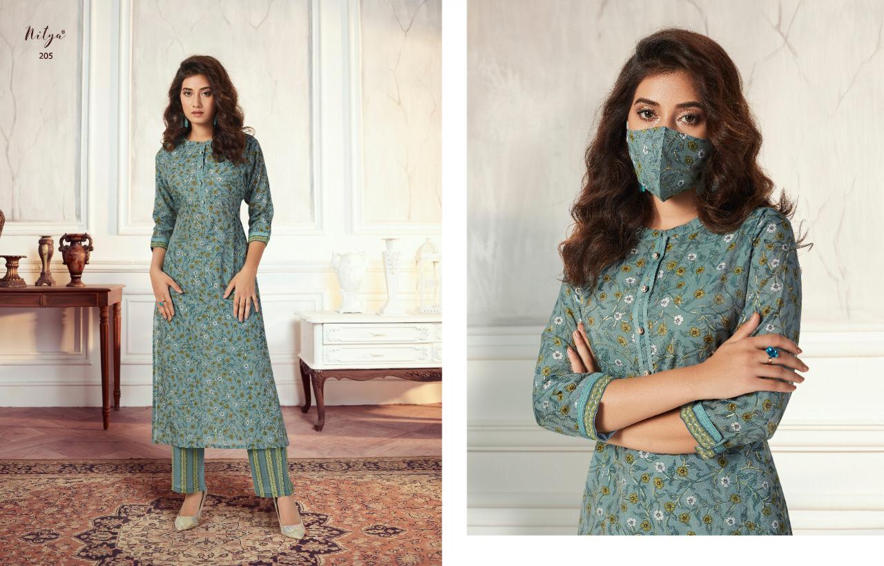Lt Fabrics Nitya Aahna Vol 2 Kurti with Palazzo Wholesale Catalog 8 Pcs 8 - Lt Fabrics Nitya Aahna Vol 2 Kurti with Palazzo Wholesale Catalog 8 Pcs
