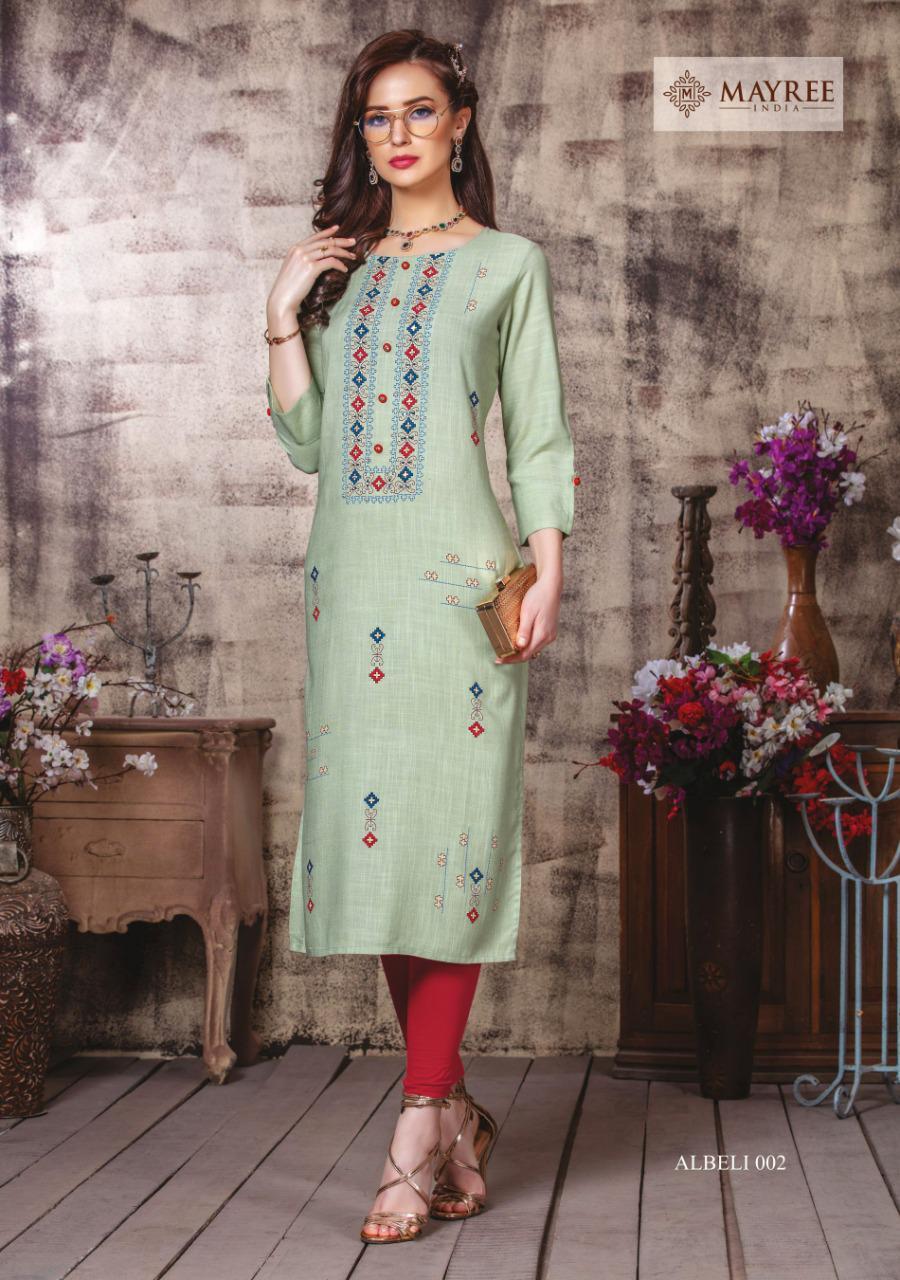 Mayree India Albeli Kurti Wholesale Catalog 6 Pcs 3 - Mayree India Albeli Kurti Wholesale Catalog 6 Pcs