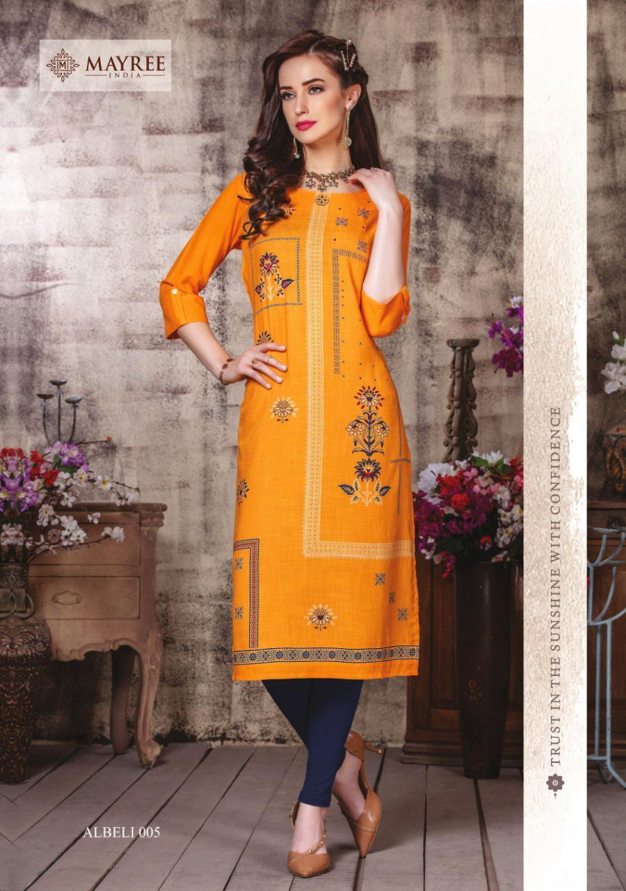 Mayree India Albeli Kurti Wholesale Catalog 6 Pcs 5 - Mayree India Albeli Kurti Wholesale Catalog 6 Pcs