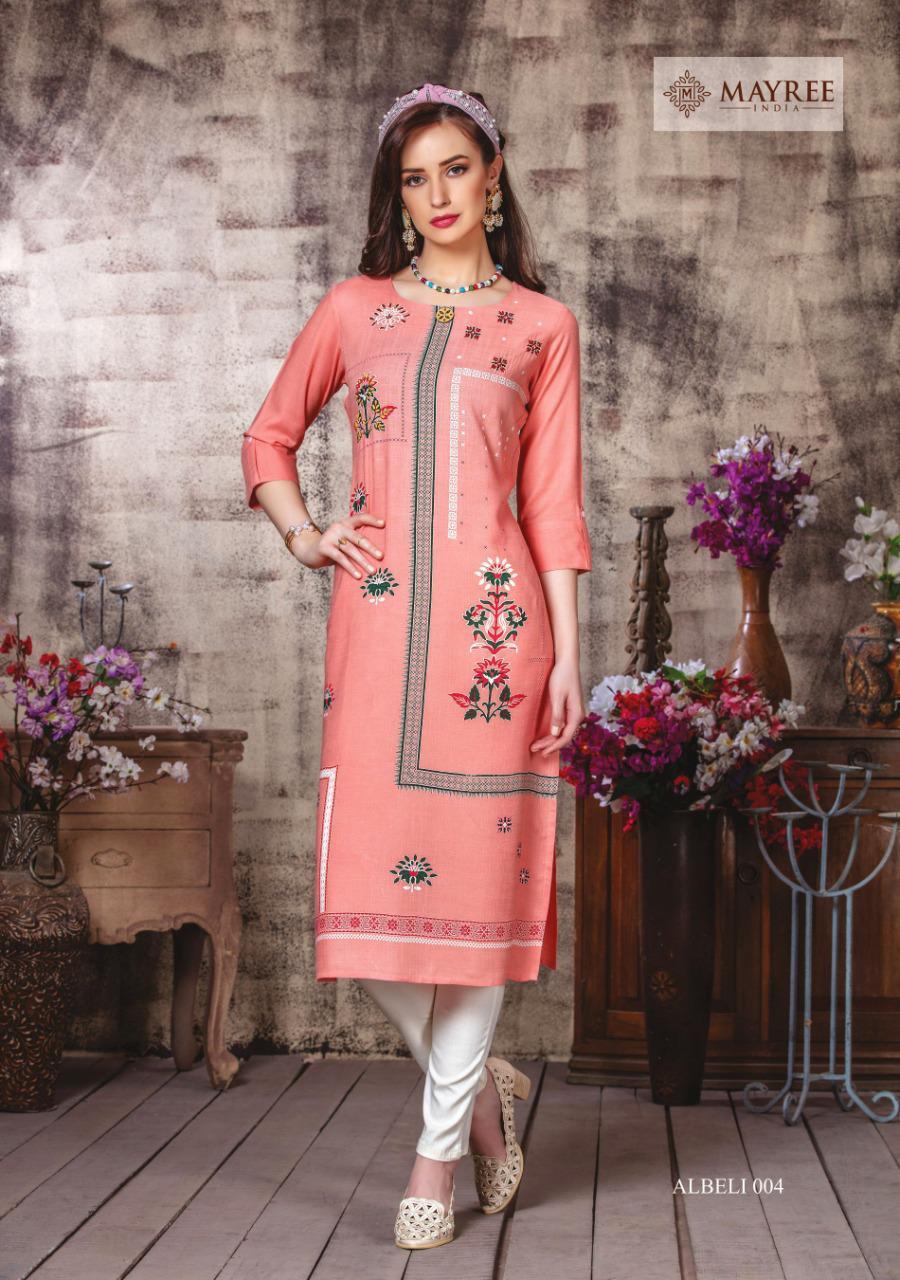 Mayree India Albeli Kurti Wholesale Catalog 6 Pcs 7 - Mayree India Albeli Kurti Wholesale Catalog 6 Pcs