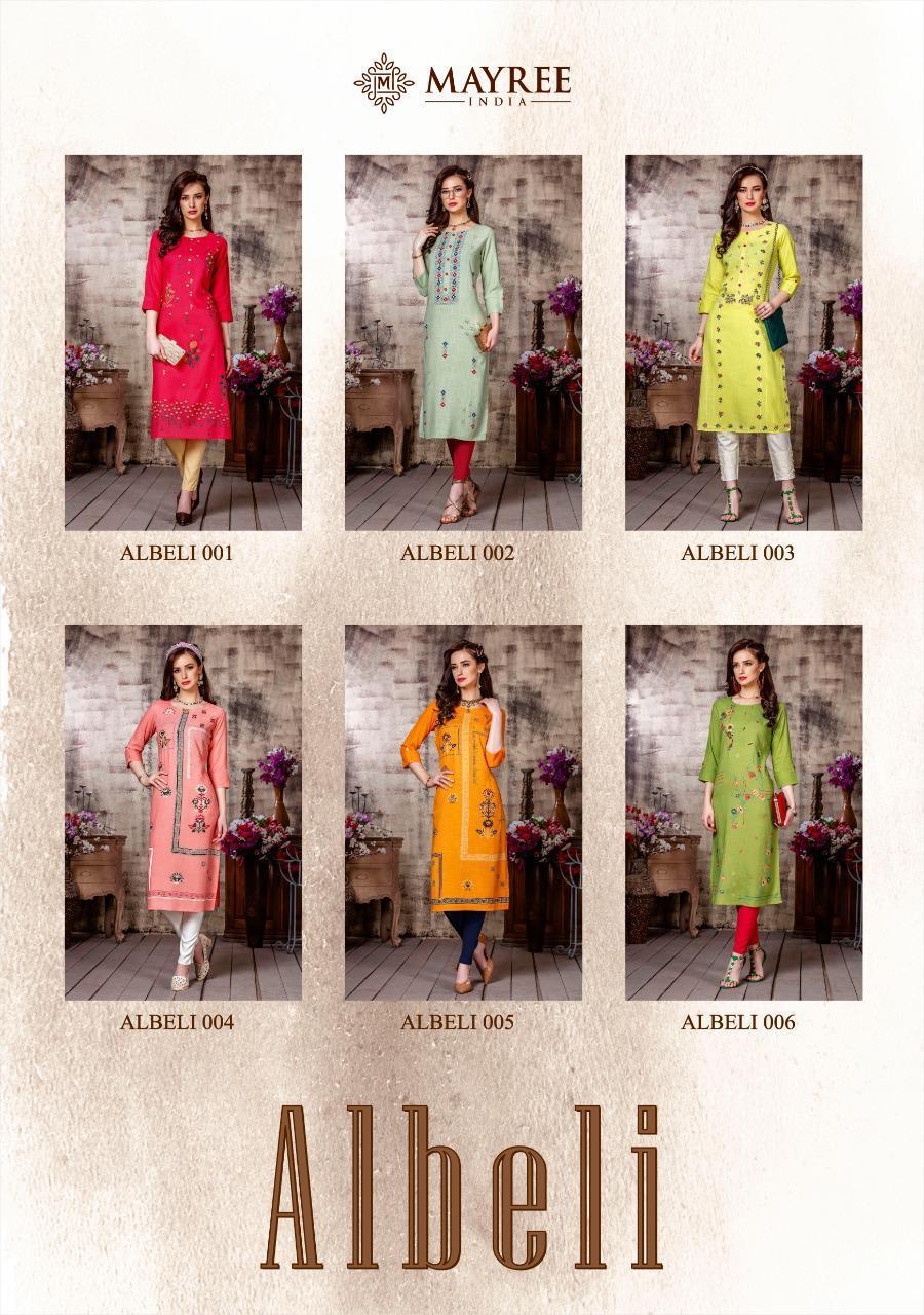 Mayree India Albeli Kurti Wholesale Catalog 6 Pcs 8 - Mayree India Albeli Kurti Wholesale Catalog 6 Pcs