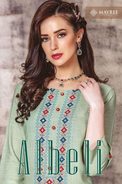 Mayree India Albeli Kurti Wholesale Catalog 6 Pcs