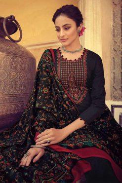 Mumtaz Arts Saanjh Black Hit Salwar Suit Wholesale Catalog 3 Pcs