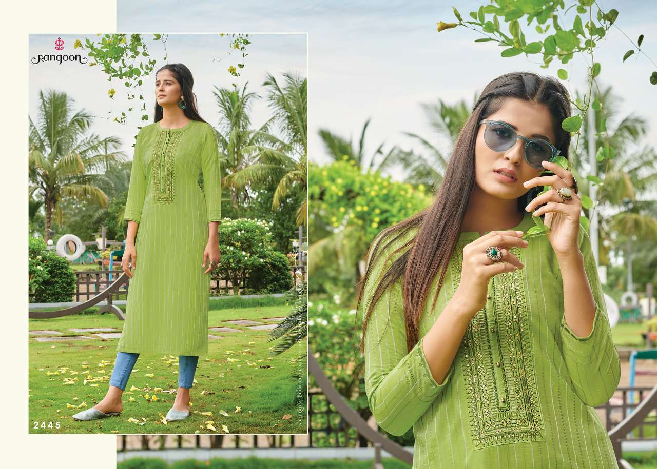 Rangoon Light Line Kurti by Kessi Wholesale Catalog 8 Pcs 10SF - Rangoon Light Line Kurti by Kessi Wholesale Catalog 8 Pcs