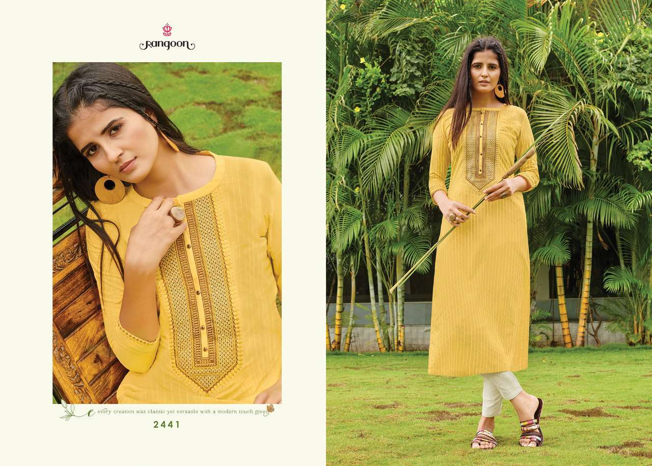 Rangoon Light Line Kurti by Kessi Wholesale Catalog 8 Pcs 9SF - Rangoon Light Line Kurti by Kessi Wholesale Catalog 8 Pcs